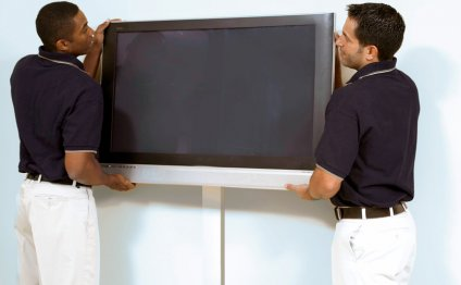 Professional TV mounting in