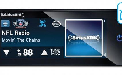 SiriusXM Radio Commander Touch