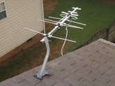Large directional antenna with Pre-Amp