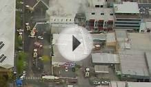 Aerial vision: fire engulfs South Melbourne hotel