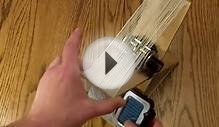 AM Radio Directional Loop Antenna Demo Homemade..Make Your