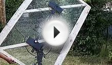 Make a Digital HD TV Antenna from a Gate.
