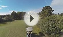Royal Melbourne Golf course Aerials for Golf Getaway TV