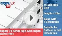 Screwfix Labgear TV Aerial High-Gain Digital